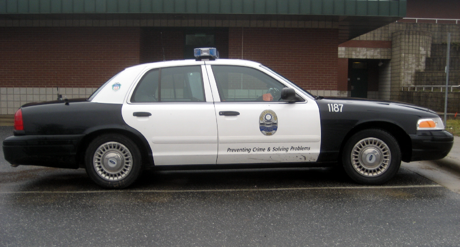 Gaston County 1964 Dodge Police Car 2002 Ford Interceptor